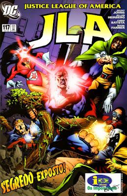 Liga da Justiça da América #117