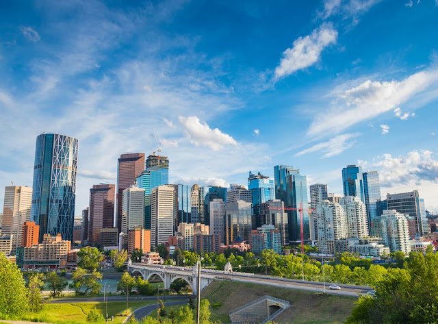 great city of Calgary in the province of Alberta