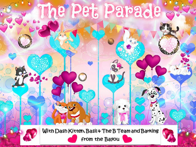 The Pet Parade Valentines Banner 2020