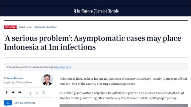 Media Asing: Dokter dan Perawat Makin Sekarat, saat Kasus Virus Corona Melonjak di Indonesia