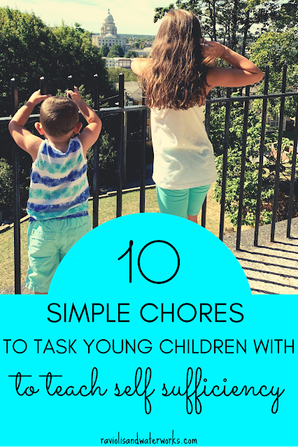 what chores are ok to give children