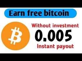 Earn free btc Without investment | Earn money online | Free btc mining website| Online earning