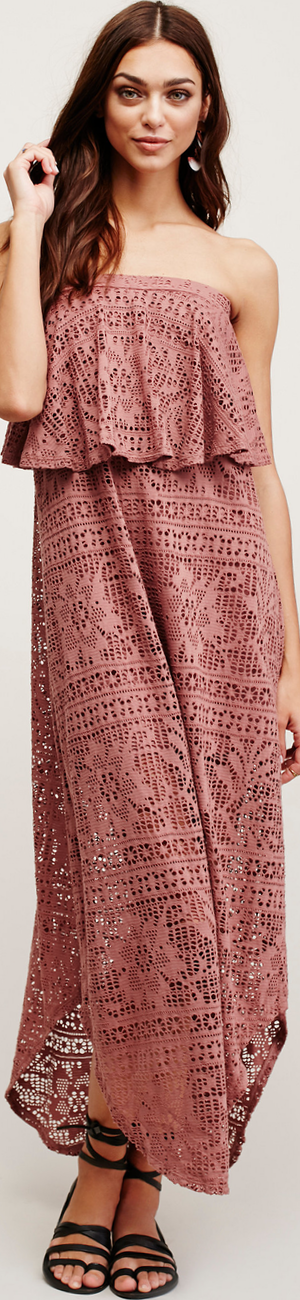 Free People Walk This Way Tube Dress