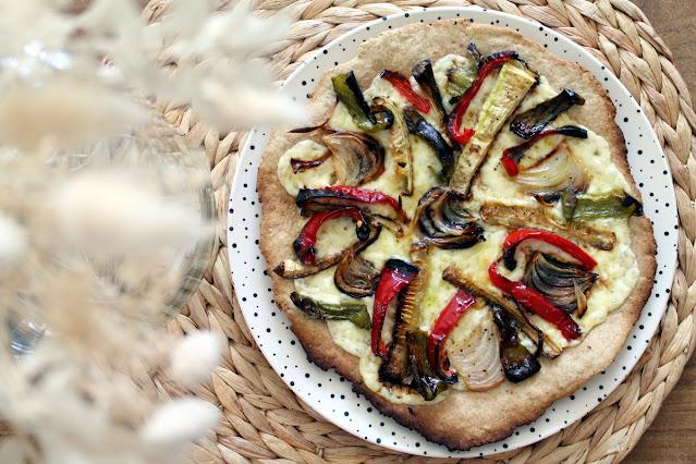 Pizzeta de verduras