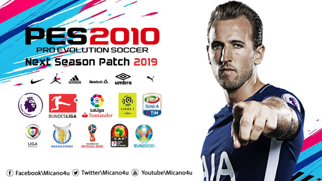 PES 2010 NEW PATCH FOR SEASON 2019 AIO