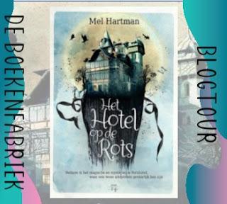 Recensie geschreven door De boekenfabriek voor de blogtour van Hamley Books voor Het hotel op de rots van Mel Hartman