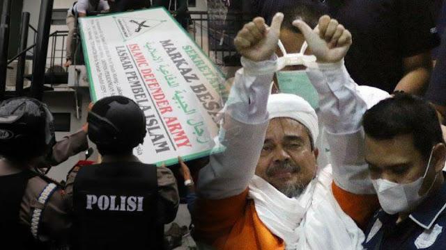 HRS Ditahan FPI Dibubarkan, Pengamat Sebut Takut Repotkan Pemerintahan Jokowi