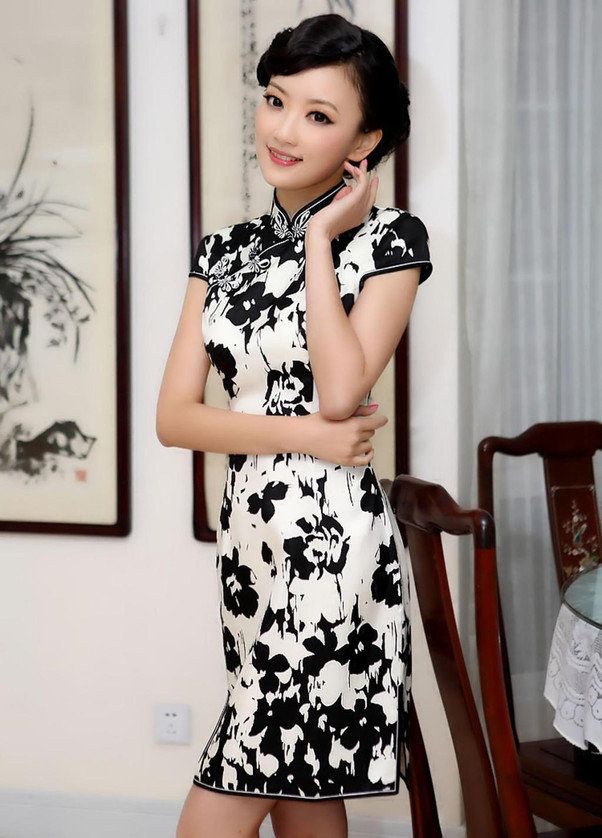 The Beauty Dress Of Cheongsam 2013 Hairstyles And Fashion