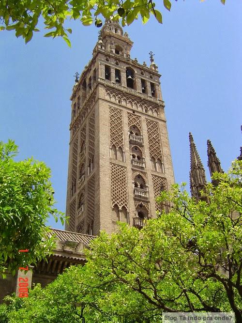 La Giralda em Sevilla