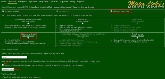 Membuat Form Tukar Link Otomatis di Blog