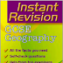 GCSE Geography Instant Revision pdf Notes for Civil Services Examinations
