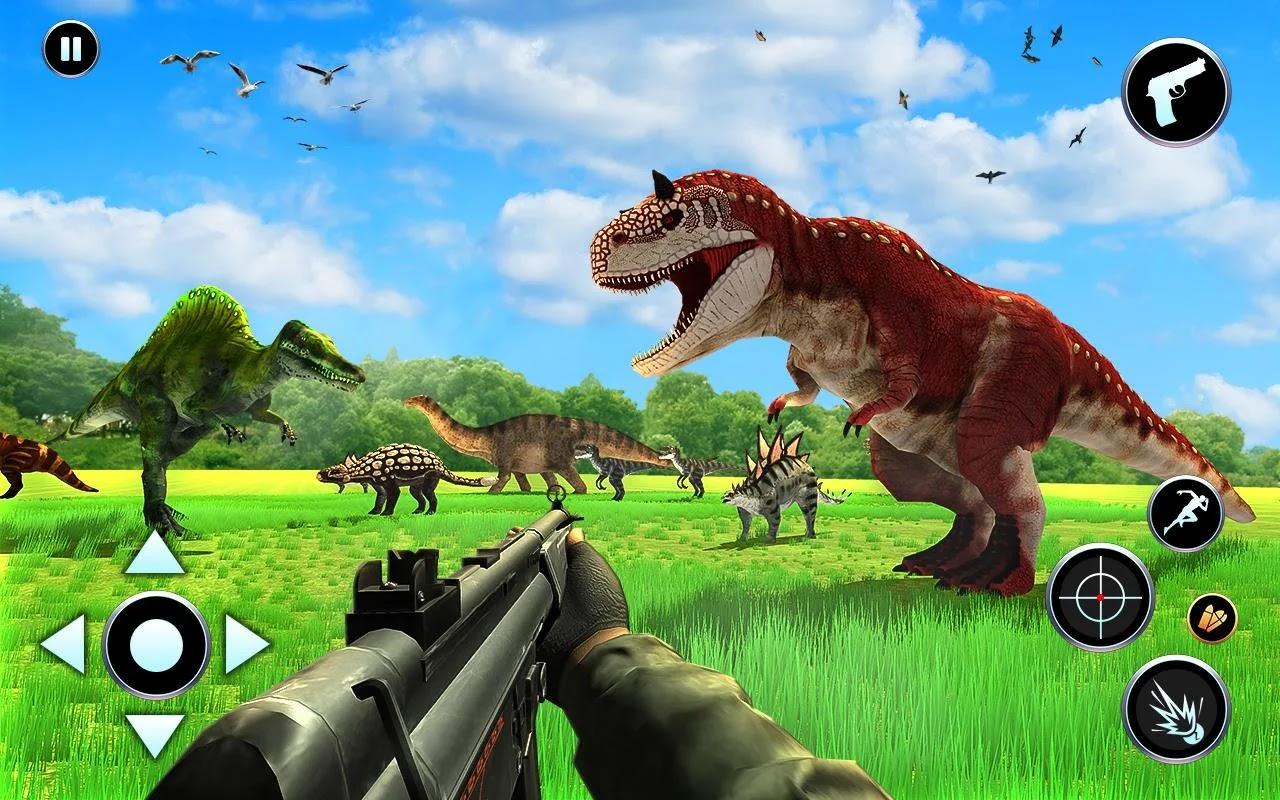 Dinosaur Hunting Games Unblocked  | SajidAcademy