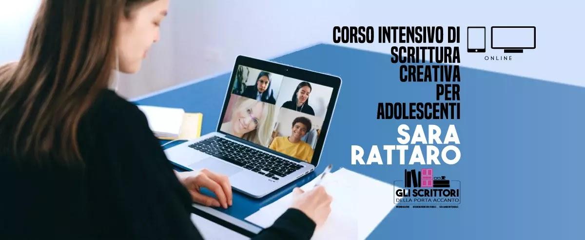 Corso di scrittura creativa per ragazzi con Sara Rattaro