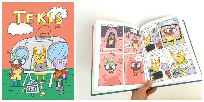 cómic infantil Tekis NubeOcho ediciones