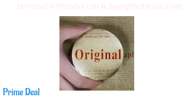 35% off 6X Dome/Paperweight Magnifier