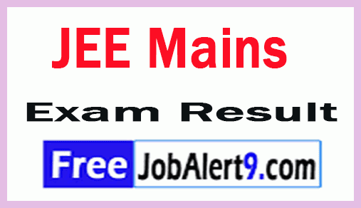 JEE Mains Exam Results