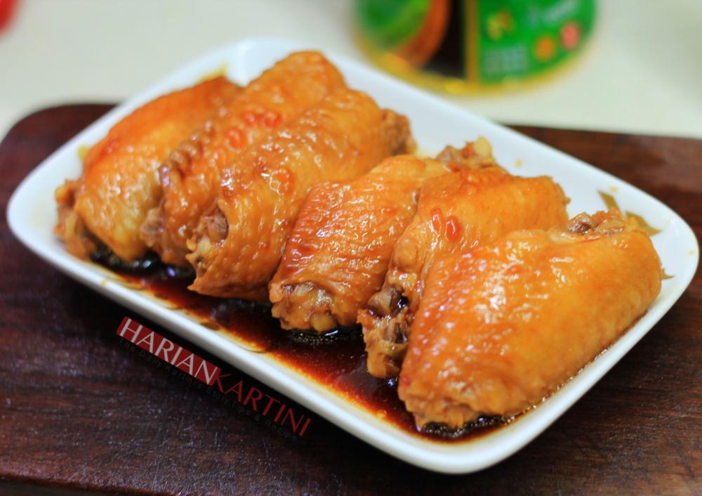 Cara Memasak Sayap Ayam Super Lembut dan Juicy ( Braised Chicken Wings) Bikin Nagih