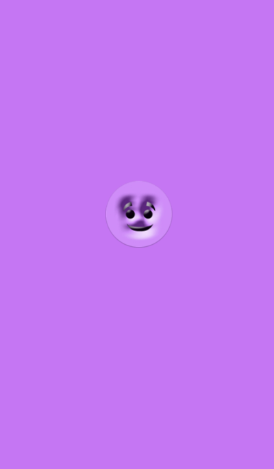 Creepy Purple Face