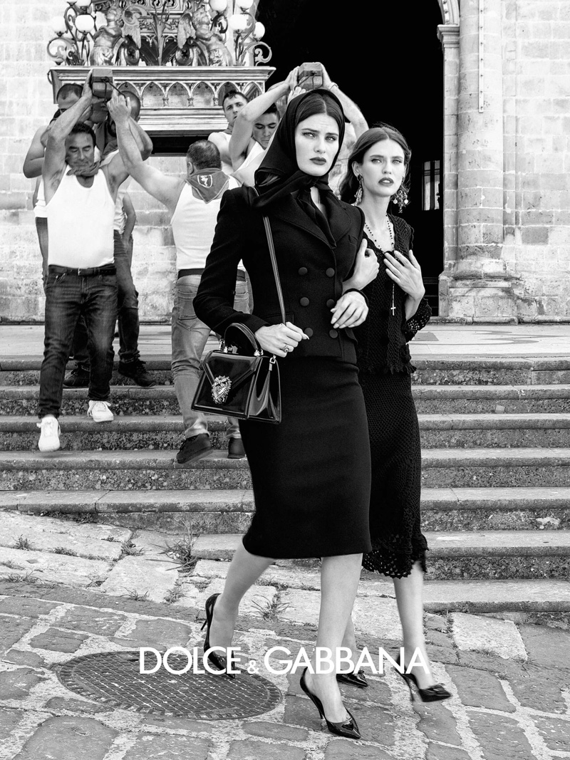 Isabeli Fontana and Bianca Balti appear in Dolce & Gabbana spring-summer 2020 campaign