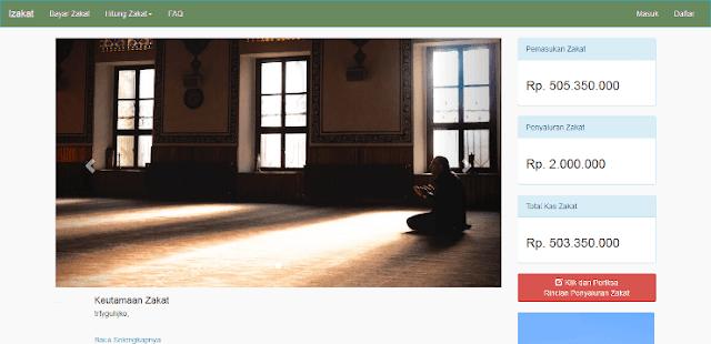 Source Code PHP Aplikasi Pembayaran Zakat Berbasis Web