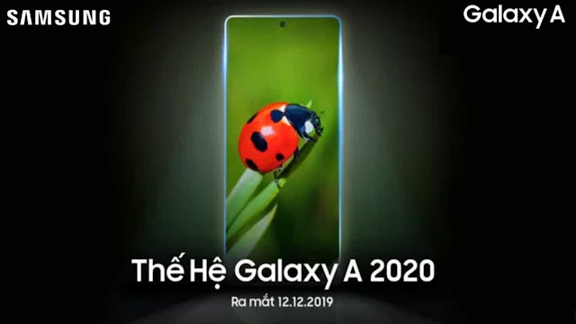 Samsung Galaxy A (2020) series teaser released, may launch on December 12