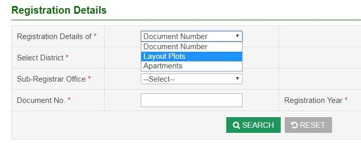 Land, Plot and apartments Registration Details in online - how to
