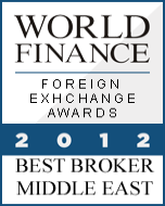 anugerah exness, exness award Best Forex Broker Middle East 2012 World Finance