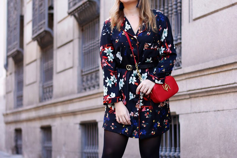 FLORAL SHIRT AND BOOTS