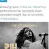 #GRAMMYs: Rihanna cancelled her Grammy performance due to bronchitis.
