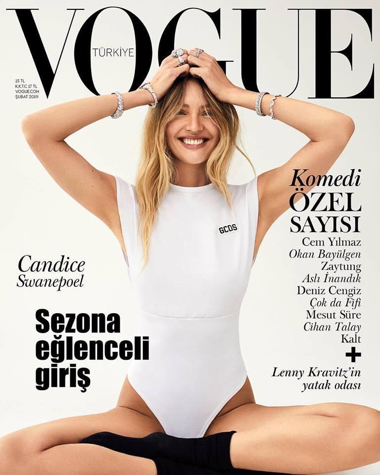 Candice Swanepoel for Vogue Turkey February 2019