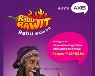 rabu rawit axis 2017