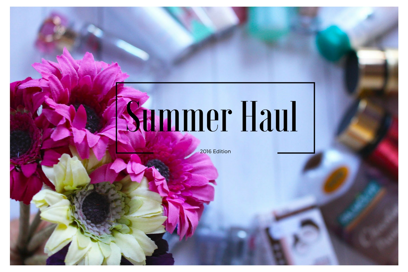 summer make up haul