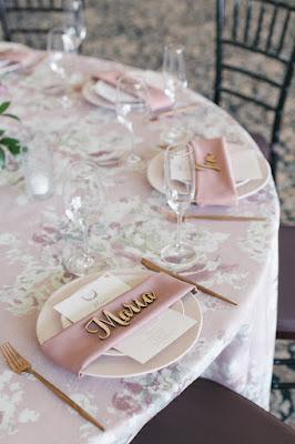 place card wedding reception