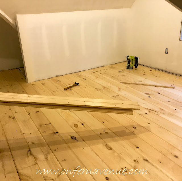 laying-wood-floors-using-ryobi-nailer