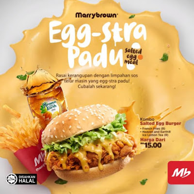 Marrybrown Egg-Stra Padu : Menu Salted Egg Yang Istimewa