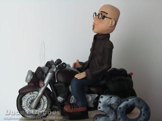 bolo moto bragança