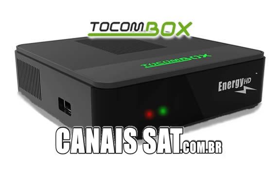 Tocombox Energy HD Atualização DRMCAM V2.007 - 28/12/2020
