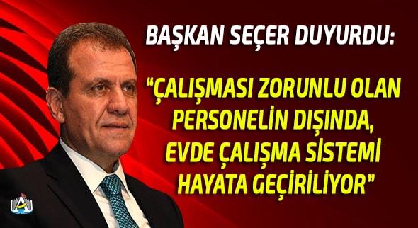 Mersin Haber, MERSİN SON DAKİKA, GÜNCEL, Vahap Seçer, Mersin Büyük Şehir Belediyesi,