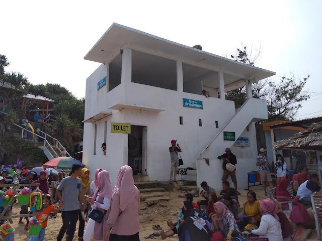 Fasilitas Mushola di Pantai Indrayanti