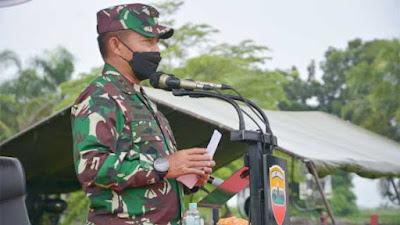 Pangdam I/BB Pengarahan Peserta Latihan Pratugas Operasi Satgas Pengamanan Daerah Rawan Maluku dan Maluku Utara