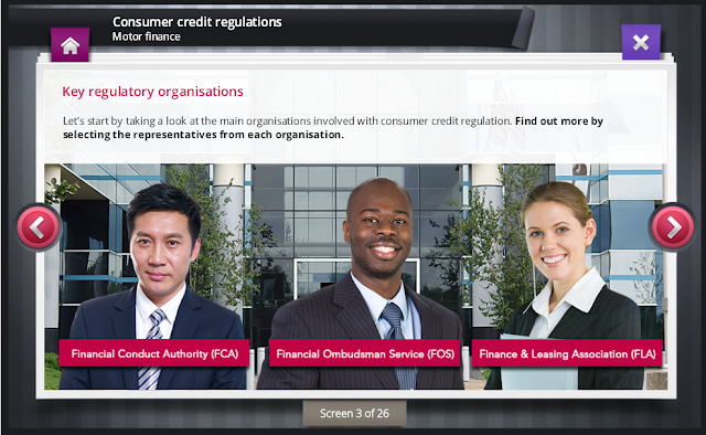 ComplianceServe Screen for Consumer Credit Regulations