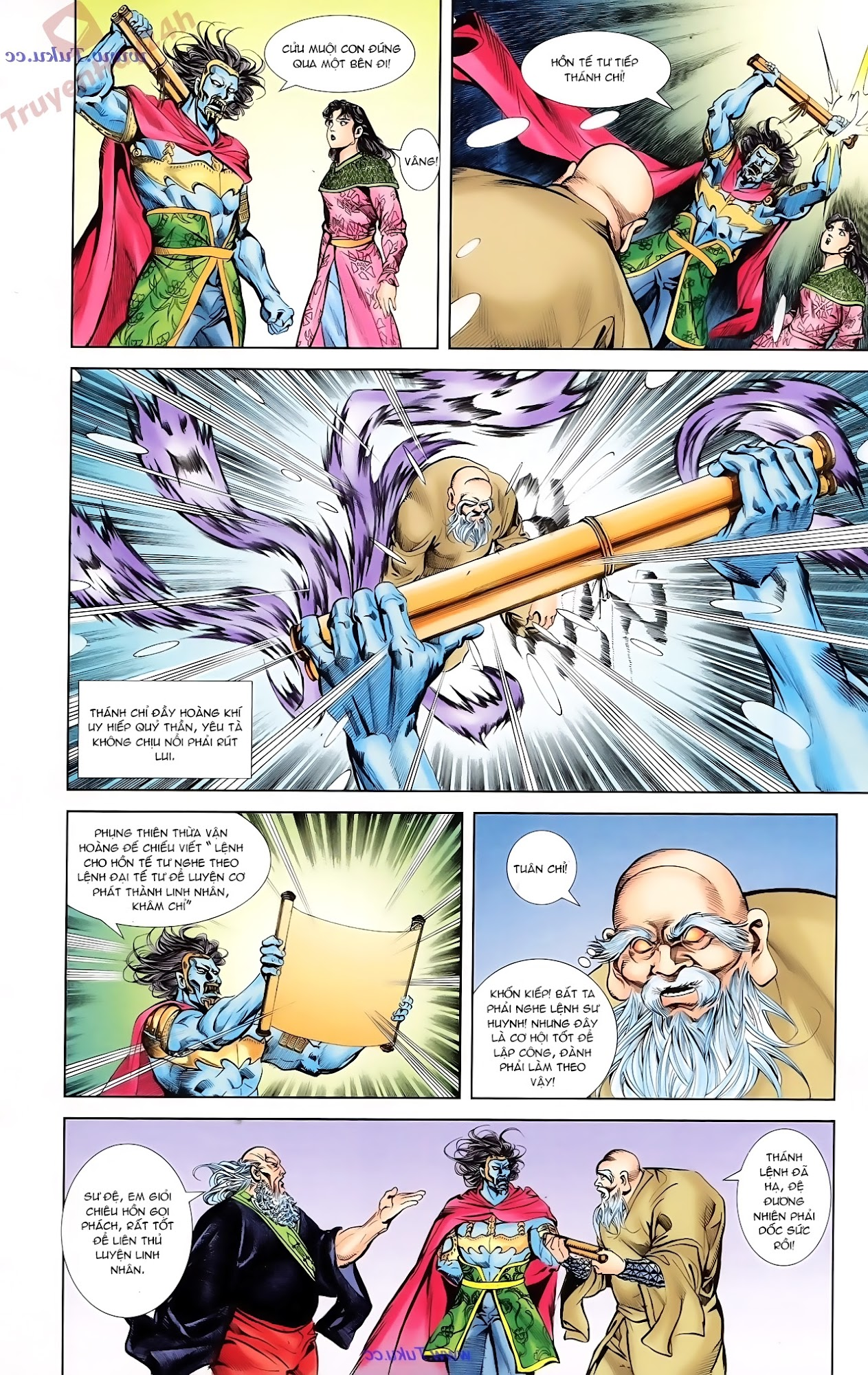Cơ Phát Khai Chu Bản chapter 78 trang 21