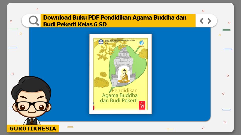 download buku pdf pendidikan agama buddha dan budi pekerti kelas 6 sd