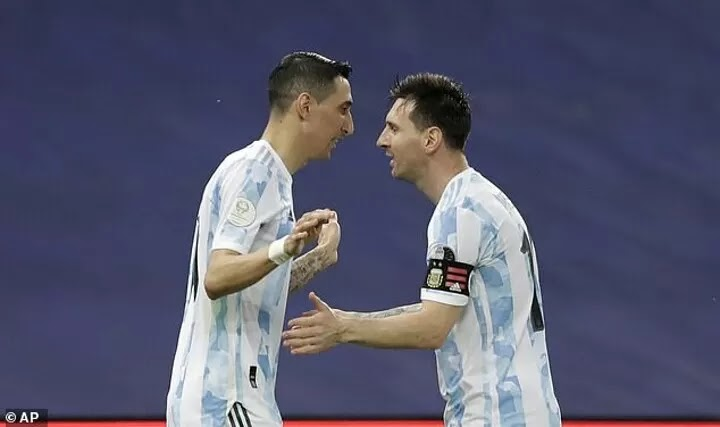 Angel Di Maria admits he has 'always wanted' to play alongside Lionel Messi at PSG