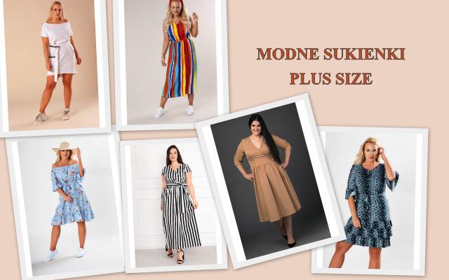 kolekcja modnych sukienek plus size fenii.pl