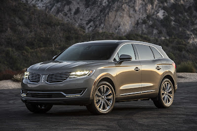 Lincoln MKX SUV left side angle