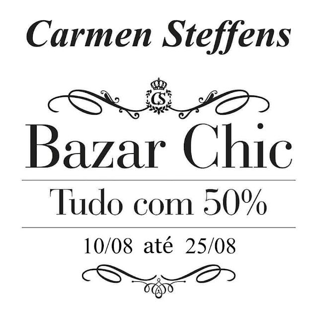 Carmen Steffens promove Bazar Chic no North Shopping Barretos