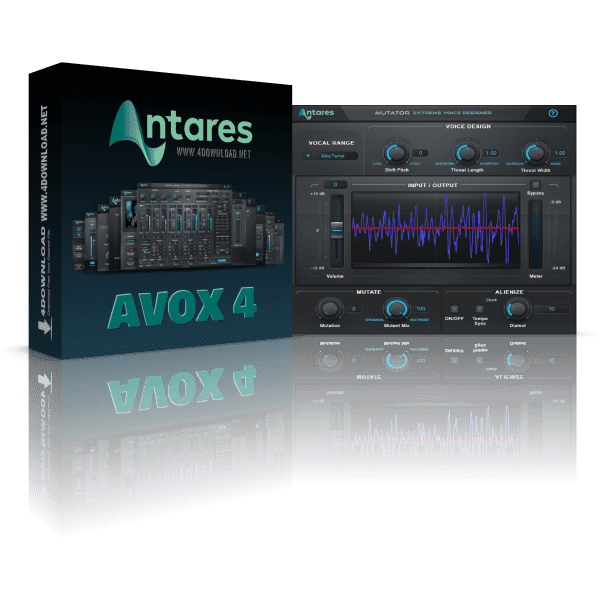 Antares AVOX v4.2.0 Full version