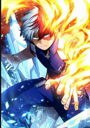 My Hero Academia Comic Highlights Todoroki's Godly Powers