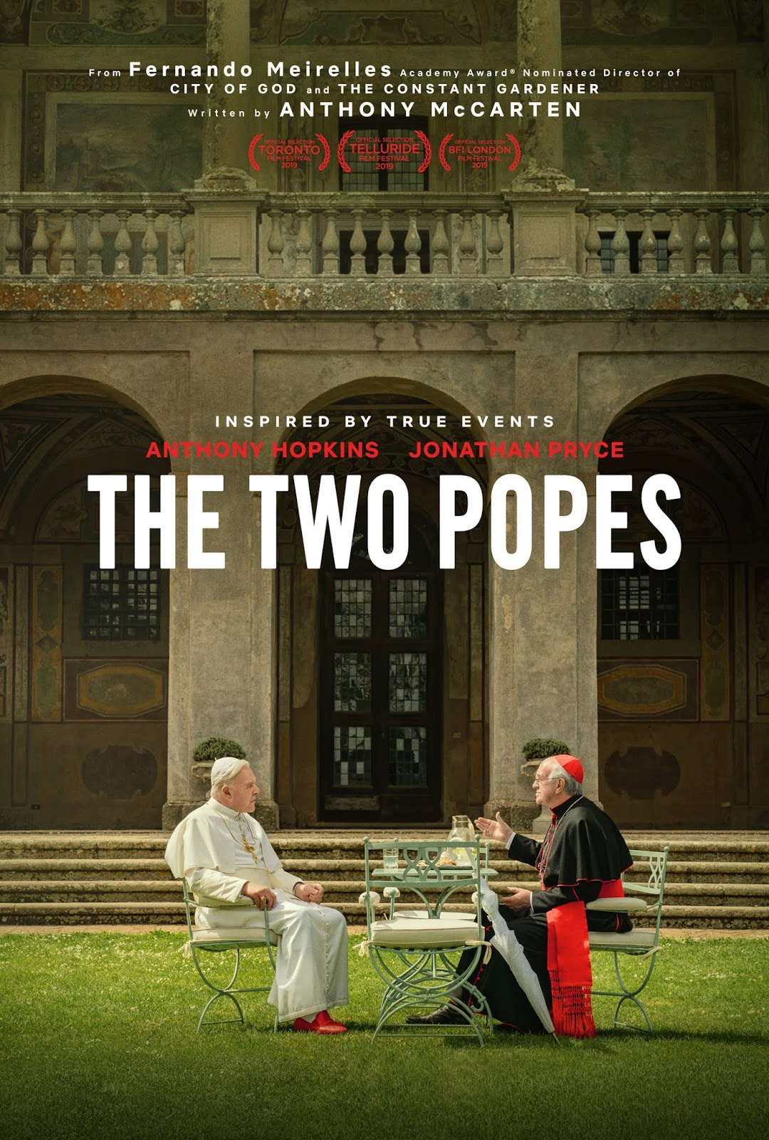 The Two Popes [2019] [CUSTOM HD] [DVDR] [NTSC] [Latino]